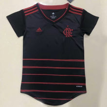 2020/21 Flamengo Third Black Women Soccer Jersey