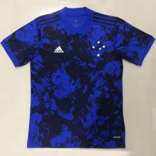 2020/21 Cruzeiro Third Blue Fans Soccer Jersey
