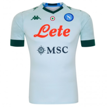 2020/21 Napoli Away Grey Fans Soccer Jersey