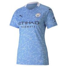 2020/21 Man City Home Blue Women Soccer Jersey