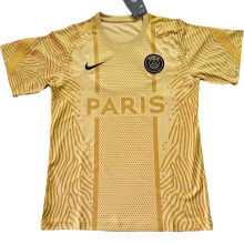 2020/21 PSG Paris Gold Training Soccer Jersey