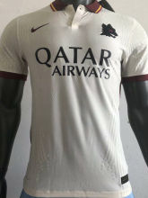 2020/21 AS RM Away White Player Version Soccer Jersey