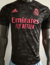 2020/21 RM Third Black Player Version Soccer Jersey