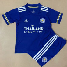 2020/21 Leicester Home Kids Soccer Jersey