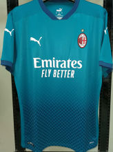 2020/21 AC Milan 1:1 Quality Third Blue Fans Soccer Jersey