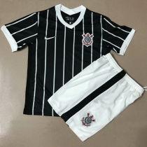 2020/21 Corinthians Away Black Kids Soccer Jersey