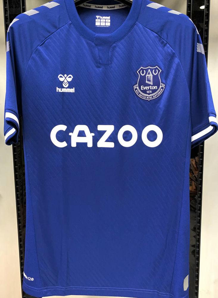 James 19 Everton 1 1 Home Blue Fans Soccer Jersey 2020 21