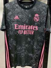 2020/21 RM 1:1 Quality Third Blakc Fans Soccer Jersey