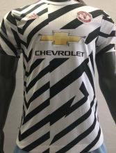 2020/21 Man Utd Third Zebra Player Soccer Jersey