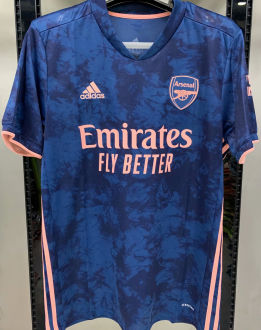 2020/21 Arsenal 1:1 Quality Third Blue Fans Soccer Jersey