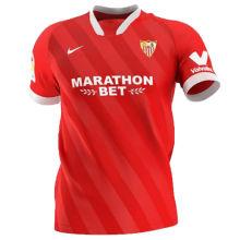 2020/21 SVL FC Away Red Fans Soccer Jersey