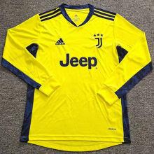 2020/21 JUV GK Yellow Long Sleeve Soccer Jersey