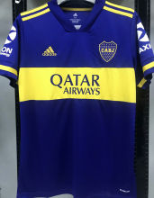 2020/21 Boca 1:1 Quality Home Blue Fans Soccer Jerseys
