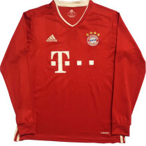 2020/21 BFC Home Red Long Sleeve Soccer Jersey