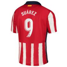 SUAREZ #9 Atletico 1:1 Home Fans Soccer Jersey 2020/21