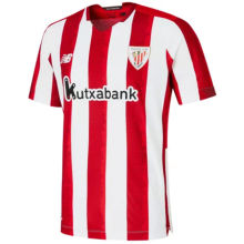 2020/21 Bilbao Athletic Home Red And White Fans Soccer Jersey