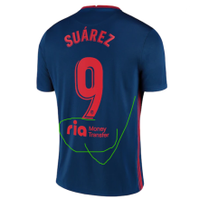 SUAREZ #9 Atletico 1:1 Away Fans Soccer Jersey 2020/21有背后广告