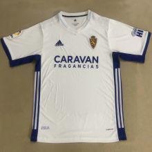 2020/21 Zaragoza Home White Fans Soccer Jersey
