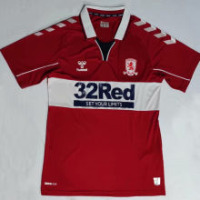 2020/21 Middlesbrough Home Red Fans Soccer Jersey