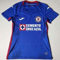 2020/21 Cruz Azul Home Blue Women Soccer Jersey