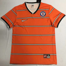 1997 Cruz Azul Orange Retro Soccer Jersey