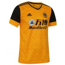 2020/21 Wolves Home Yellow Fans Soccer Jersey有胸前广告