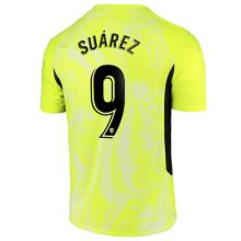 SUAREZ #9 ATM Third Yellow Fans Soccer Jersey 2020/21