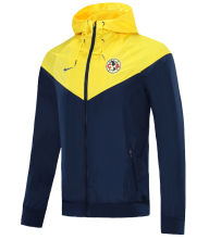 2020/21 Club America Yellow And Black Windbreaker