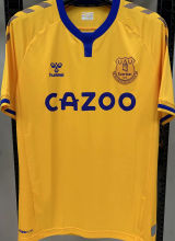 2020/21 Everton 1:1 Quality Away Yellow Fans Soccer Jersey