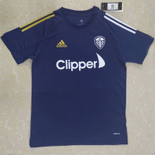 2020/21 Leed Utd Blue Training Soccer Jersey