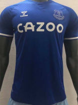 2020/21 Everton Home Blue Player Version Soccer Jersey