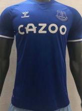 2020/21 Everton Home Blue Player Version Soccer Jersey
