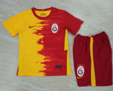 2020/21 Galatasaray Home Yellow And Red Kids Soccer Jerseys