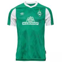 2020/21 Werder Bremen Green Fans Soccer Jersey