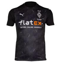 2020/21 Monchengladbach Away Black Fans Soccer Jersey