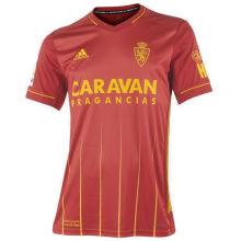2020/21 Zaragoza Away Red Fans Soccer Jersey