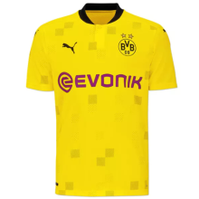 2020/21 BVB Away Yellow Fans Soccer Jersey