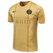 2020/21 PSG Gold Training Soccer Jersey