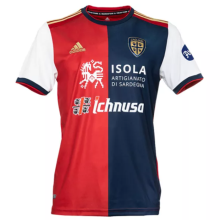 2020/21 Cagliari Home Red Fans Soccer Jersey