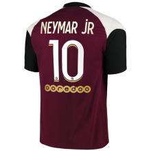 NEYMAR jR #10 PSG Third 1:1 Fans Soccer Jersey 2020/21