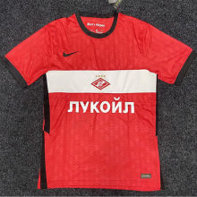 2020/21 Spartak Moscow Home Red Fans Soccer Jersey