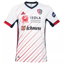 2020/21 Cagliari Away White Fans Soccer Jersey