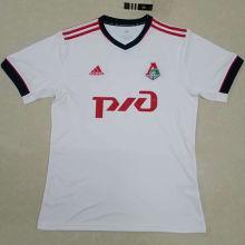 2020/21 Lokomotiv Moscow White Fans Soccer Jersey
