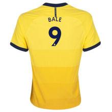 BALE #9 TH FC1:1 Away Yellow  Fans Soccer Jerseys 2020/21(League Font)