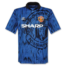 1992-1993 M Utd Away Retro Soccer Jersey