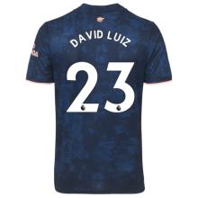 DAVID LUIZ #23 ARS 1:1 Quality Third Blue Fans Soccer Jersey 2020/21(League Font)