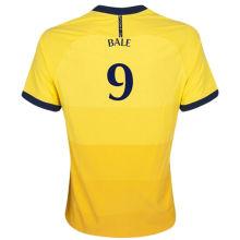 BALE #9 TH FC 1:1 Away Yellow Fans Soccer Jerseys 2020/21(UEFA Font 欧冠字体)