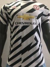 2020/21 M Utd  Third Zebra Player Soccer Jersey