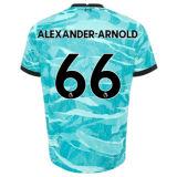 ALEXANDER-ARNOLD #66 LIV 1:1 Away Blue Fans Soccer Jersey 2020/21(UCL Font 欧冠字体)