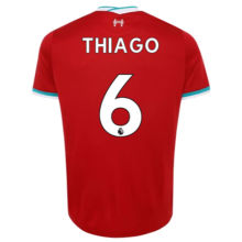THIAGO #6 LIV 1:1 Home Fans Soccer Jerseys 2020/21(League Font)